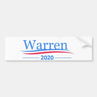 Waren für Präsidenten 2020, klassisches Autoaufkleber