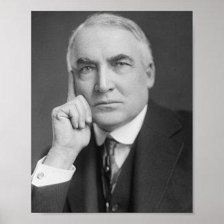 Waren G. Harding Poster