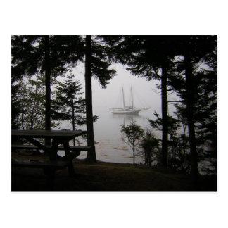 Waren-Insel-Postkarte - 1 Postkarte