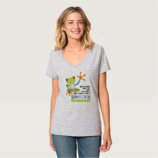 Warf es aus den Grund T-Shirt