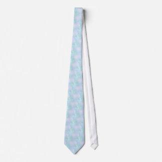 Warme aquamarine und lila krawatte