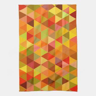 Warme Dreieckfliesen Handtuch