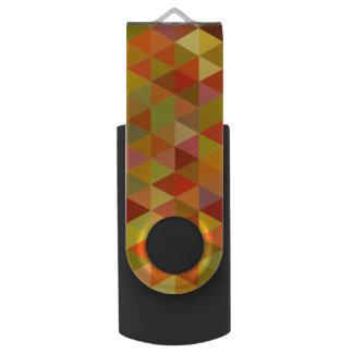 Warme Dreieckfliesen USB Stick