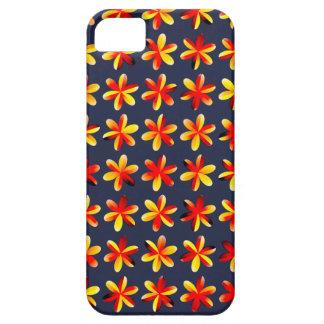 Warme Sonnenuntergang-Blumen Hülle Fürs iPhone 5