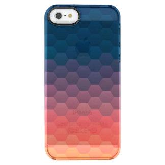 Warmer Sonnenuntergang Durchsichtige iPhone SE/5/5s Hülle