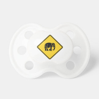 Warnen Sie die Elefanten, die ⚠ thailändisches Schnuller