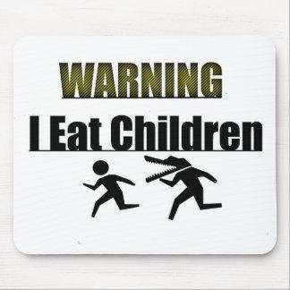 WARNEND esse ich Kinder Mauspads