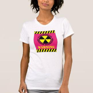 Warnende ungeeignete kindische Tendenzen T-Shirt