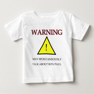 Warnender Ron Paul .png Baby T-shirt