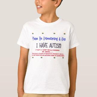 Warnendes Kind mit Autismus T-Shirt