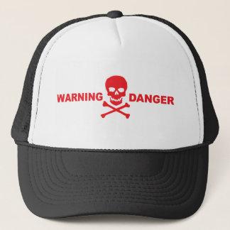 WARNING GEFAHRENhut Truckerkappe