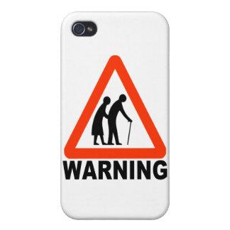 Warnung - ältere Überfahrt Etui Fürs iPhone 4