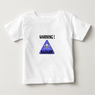 Warnung! Badass Baby T-shirt