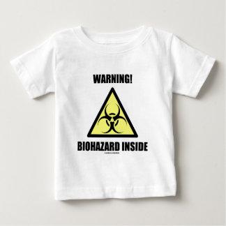 Warnung! Biogefährdung-Innere Baby T-shirt