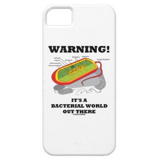 Warnung! Es ist eine bakterielle Welt dort iPhone 5 Schutzhülle