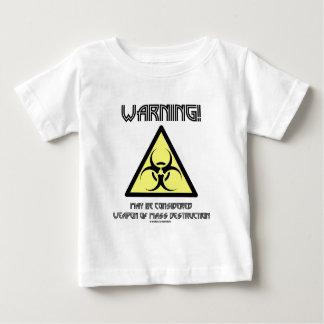 Warnung! Gelten mag als Waffen-Massenvernichtung Baby T-shirt