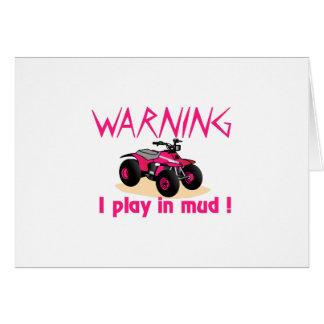 Warnung Karte