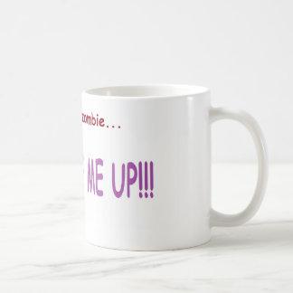 Warnung: Nicht für Morgen-Leute! Kaffeetasse