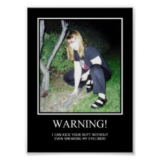 Warnung Poster