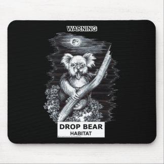 Warnung: Tropfen-Bärn-Lebensraum Mauspads