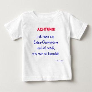 Warnung vor dem Kind Baby T-shirt