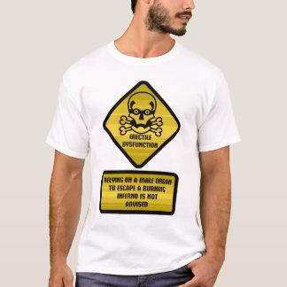 Warnzeichen - erektile Dysfunktion T-Shirt