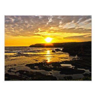 Warrnambool Sonnenuntergang-Druck Fotodruck