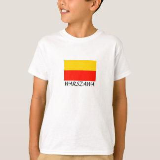 "Warsawf Flagge ""WARSCHAU "" T-Shirt"