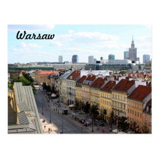 Warschau-Ansicht Postkarte
