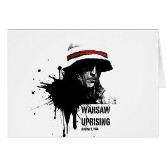 Warschau-Aufstieg Karte