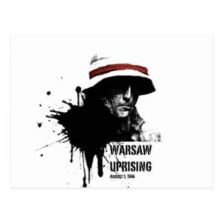 Warschau-Aufstieg Postkarte