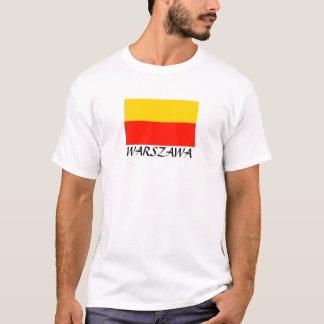 "Warschau-Flagge ""Warschau "" T-Shirt"