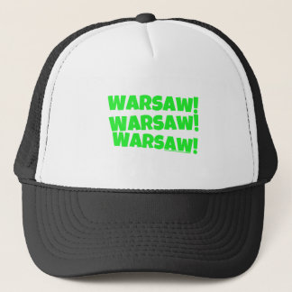 Warschau! Grün Truckerkappe