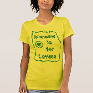 Warschau ist für Liebhaber T-Shirt