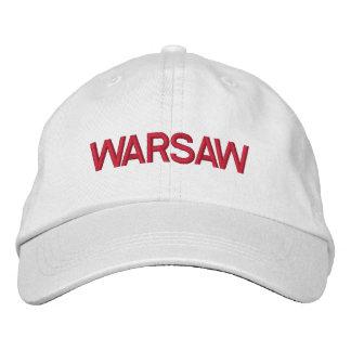 Warschau-Kappe Bestickte Kappe