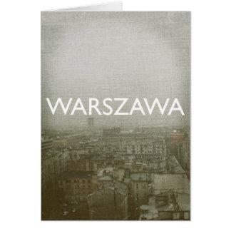 Warschau Karte
