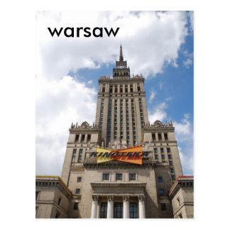 Warschau Postkarte