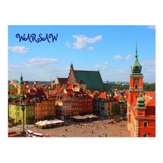 Warschau-Postkarte Postkarte
