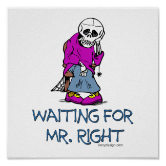 Wartete Mr.Right Poster