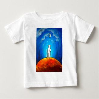 Wartete unter den Mond Baby T-shirt