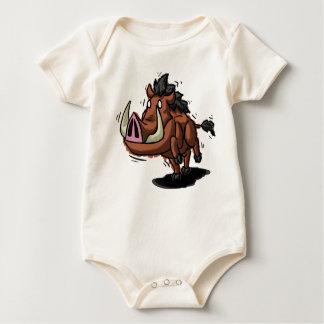 Warthog Babygrow Baby Strampler