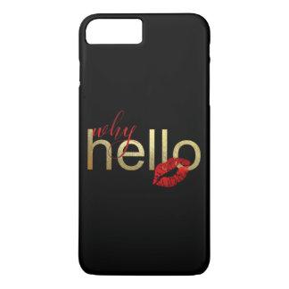 """""""WARUM HALLO"""" WUNDERLICHER IPHONE FALL iPhone 8 PLUS/7 PLUS HÜLLE"""
