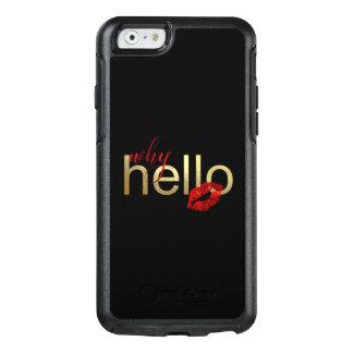 """""""WARUM HALLO"""" WUNDERLICHER IPHONE FALL OtterBox iPhone 6/6S HÜLLE"""
