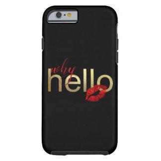 """""""WARUM HALLO"""" WUNDERLICHER IPHONE FALL TOUGH iPhone 6 HÜLLE"""