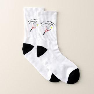 Warum i-Liebetennis tun. Es macht mich heiß Socken