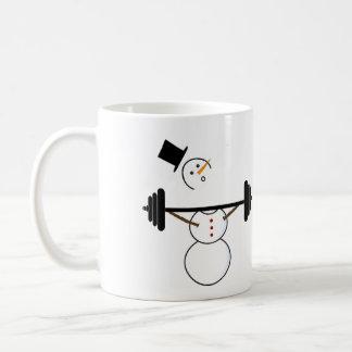 Warum Schneemänner nicht schnappen sollten Kaffeetasse