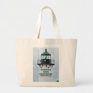 Warwick Hals-Leuchtturm, Rhode Island Jumbo Stoffbeutel