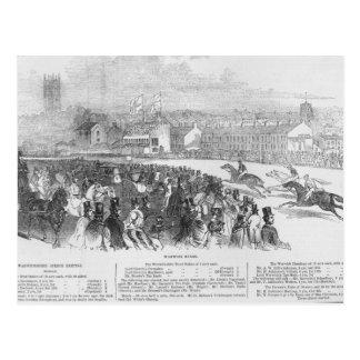 Warwick Rennen, 'vom illustrierten London Postkarte