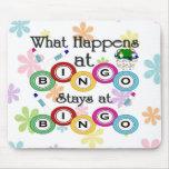 Was am Bingo geschieht Mauspads