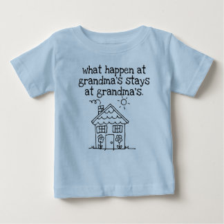 was am Haus der Großmutter geschehen Baby T-shirt